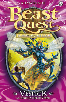 Squillogame.it Vespick. La regina delle vespe. Beast Quest. Vol. 36 Image
