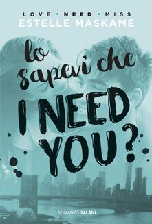 Osteriacasadimare.it Lo sapevi che I need you? Image