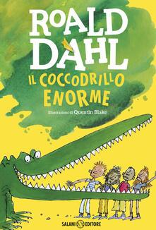 Il coccodrillo Enorme - Roald Dahl - copertina