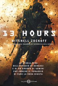 Libro 13 hours Mitchell Zuckoff
