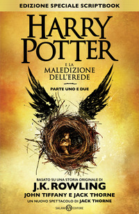 Harry Potter e la maledizione dell'erede. Parte uno e due Scriptbook - Rowling J. K. Tiffany John Thorne Jack - wuz.it