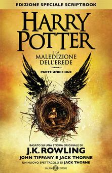 Antondemarirreguera.es Harry Potter e la maledizione dell'erede. Parte uno e due. Scriptbook. Ediz. speciale Image