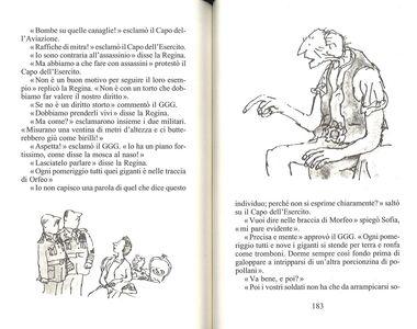 Libro Il GGG Roald Dahl 4