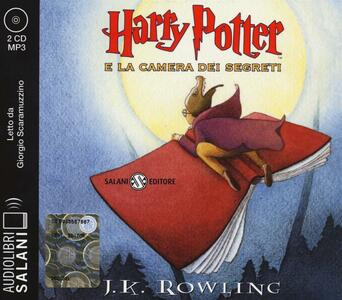 Harry Potter e la camera dei segreti letto da Giorgio Scaramuzzino. Audiolibro. 2 CD Audio formato MP3. Ediz. integrale. Vol. 2