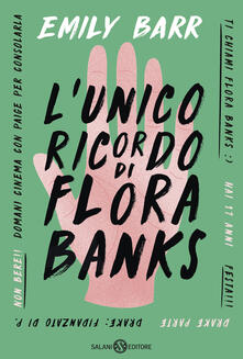 Warholgenova.it L' unico ricordo di Flora Banks Image