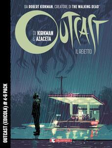 Outcast-Il reietto. Voll. 4-6