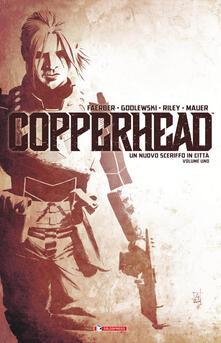 Winniearcher.com Copperhead. Vol. 1: nuovo sceriffo in città, Un. Image
