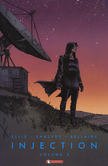 Injection. Vol. 3 - Warren Ellis,Declan Shalvey - copertina