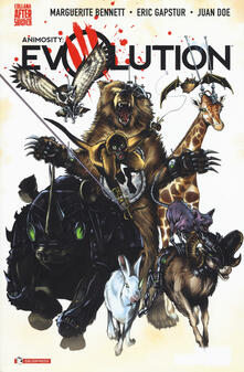 Animosity: Evolution. Vol. 1: Mondo nuovo. - Marguerite Bennett,Eric Gapstur,Juan Doe - copertina