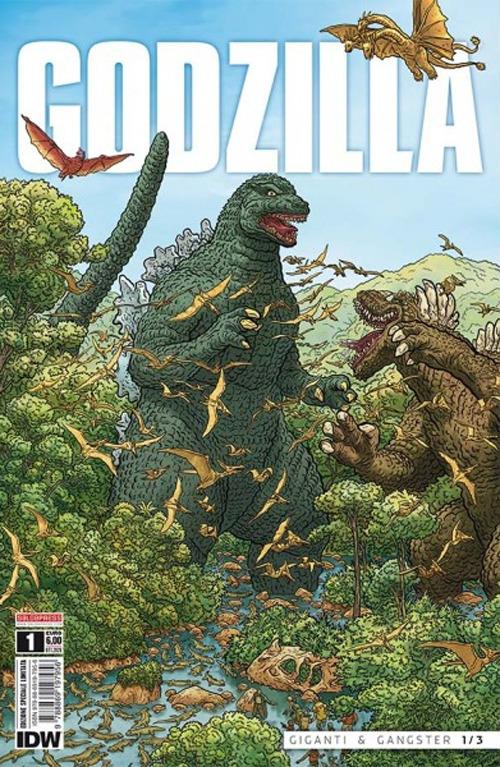 Image of Godzilla. Ediz. variant. Vol. 1: Giganti & gangster.