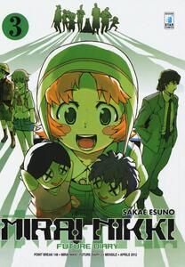 Mirai Nikki. Future diary. Vol. 3