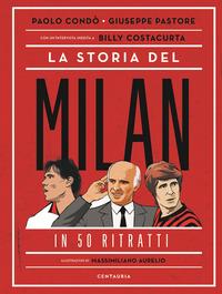 STORIA DEL MILAN IN 50 RITRATTI (LA)