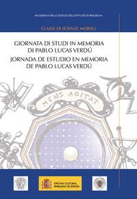 Giornata di studi in memoria di Pablo Lucas Verdù-Jornada de estudio en memoria de Pablo Lucas Verdù - - wuz.it