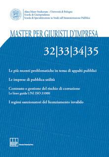 Master per giuristi d'impresa vol. 32-33-34-35