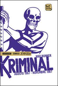 Kriminal. Vol. 11: Agosto 1967-Novembre 1967.