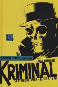 Kriminal. Vol. 16: Settembre 1969-Aprile 1970.