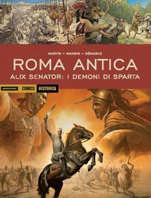 Milanospringparade.it Alix senator: I demoni di Sparta. Roma antica Image