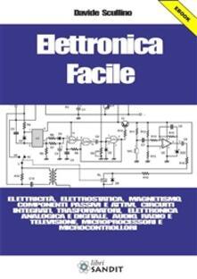 Elettronica facile. Elettricità, elettrostatica, magnetismo, componenti passivi e attivi, circuiti integrati, trasformatori, elettronica analogica e digitale... - Davide Scullino - ebook