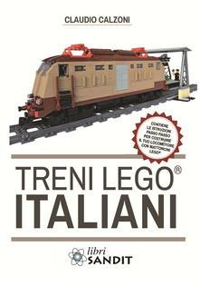 Listadelpopolo.it Treni Lego® italiani, con istruzioni passo passo per costruire il locomotore con mattoncini Lego® Image
