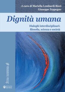Promoartpalermo.it Dignità umana. Dialoghi interdisciplinari: filosofia, scienza e società Image