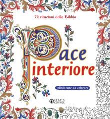 Pace interiore. Miniature da colorare. 72 citazioni dalla Bibbia. Ediz. illustrata.pdf