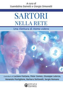 Festivalpatudocanario.es Sartori nella rete. Una rilettura di «Homo Videns» Image