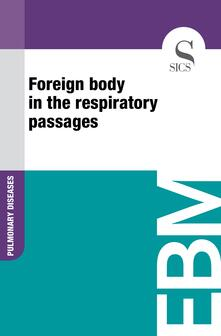 Foreign Body in the Respiratory Passages
