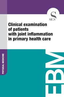 Clinical Examination of Patients with Joint Inflammation in Primary Health Care