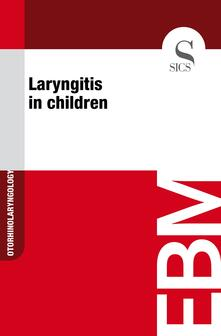 Laryngitis in Children