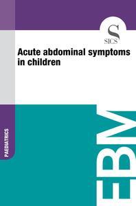 Acute Abdominal Symptoms in Children