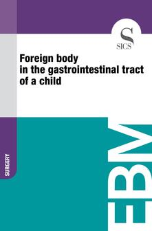 Foreign Body in the Gastrointestinal Tract of a Child