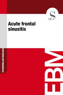 Acute frontal sinusitis0