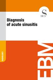 Diagnosis of acute sinusitis