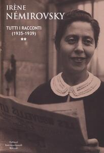 Tutti i racconti. Vol. 2: (1935-1939).