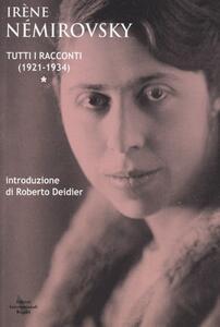 Tutti i racconti. Vol. 1: (1921-1934).
