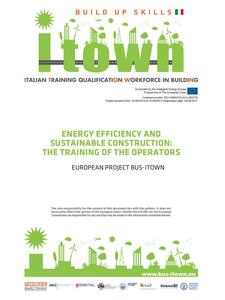 iTown. Energy efficiency and sustainable construction: the training of the operators. European project Bus-iTown