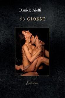 93 giorni - Daniele Aiolfi - copertina