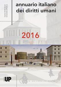 Annuario italiano dei diritti umani 2016