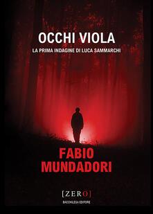 Occhi viola - Fabio Mundadori - copertina
