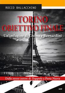 Ristorantezintonio.it Torino obiettivo finale. Un'indagine di Crema e Bernardini Image
