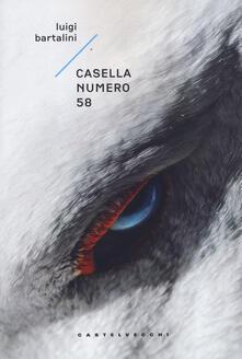 Casella numero 58 - Luigi Bartalini - copertina