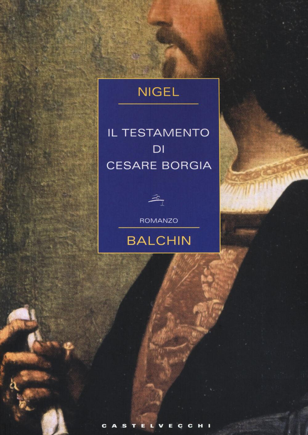 Il testamento di Cesare Borgia