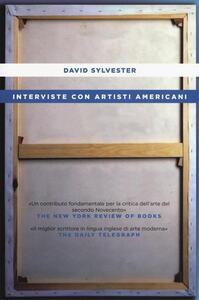 Interviste con artisti americani