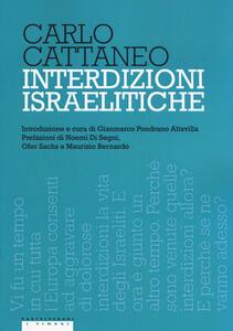 Interdizioni israelitiche