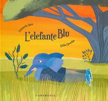 L' elefante blu. Ediz. a colori - Emanuela Nava,Giulia Orecchia - copertina