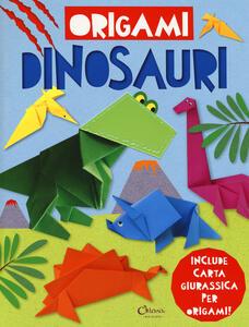 Dinosauri. Origami. Ediz. a colori. Con gadget