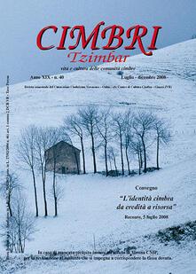 Filippodegasperi.it Cimbri-Tzimbar. Vita e culture delle comunità cimbre. Vol. 40 Image