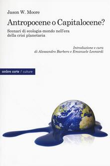 Vitalitart.it Antropocene o capitalocene? Scenari di ecologia-mondo nella crisi planetaria Image
