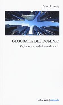 Geografia del dominio. Capitalismo e produzione dello spazio - David Harvey - copertina