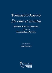 Cefalufilmfestival.it Tommaso d'Aquino. «De ente et essentia». Selezione di brani e commento Image